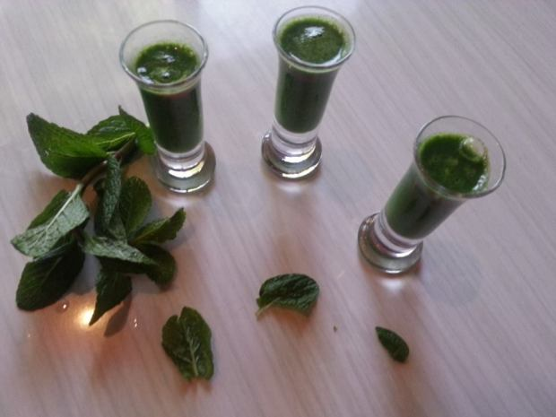 Supergreens shots
